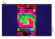 Phone Case Art Intricate Colorful Dynamic Abstract City Geometric Designs By Carole Spandau 131 Cbs  Carry-all Pouch