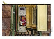 Phone Home - Telephone Booth Carry-all Pouch