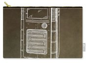 Phonograph Cabinet Patent Carry-all Pouch