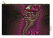 Phosphorescent Fish Fossil Carry-all Pouch