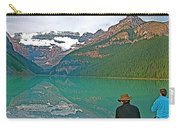 Photographers At Lake Louise In Banff National Park-ab Carry-all Pouch