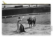 Photographers Including Dick Frontain Bullfight Nogales Sonora Mexico 1969 Carry-all Pouch
