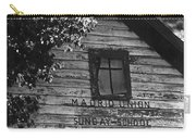Photography Homage Margaret Bourke-white  Ghost Town Madrid New Mexico 1968 Carry-all Pouch