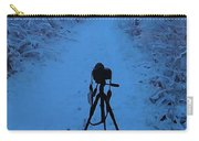 Photography In The Winter Carry-all Pouch