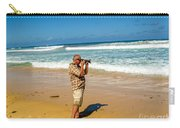Photorgapher Near The Ocean Carry-all Pouch