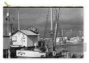Phyllis Purse-seiner Monterey Wharf California  Circa 1940 Carry-all Pouch