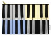Piano Keys In Quad Colors Carry-all Pouch
