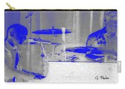 Piano Player In Pastel Blue Carry-all Pouch