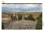Piazza Del Popolo - Impressions Of Rome Carry-all Pouch
