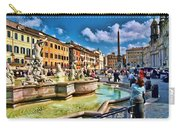 Piazza Navona - Rome Carry-all Pouch
