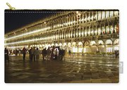 Piazza San Marco Carry-all Pouch by Ellen Henneke