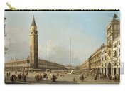 Piazza San Marco Looking South And West Carry-all Pouch