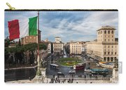 Piazza Venezia Carry-all Pouch by John Wadleigh