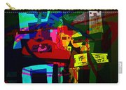 Picasso With A Twist Of Color. Carry-all Pouch