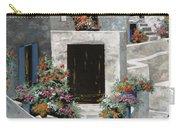 piccole case bianche di Grecia Carry-all Pouch