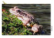 Pickerel Frog Carry-all Pouch