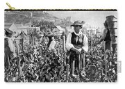 Picking Grapes In Switzerland Carry-all Pouch