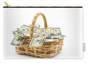 Picnic Basket Full Of Money Carry-all Pouch