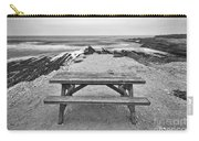 Picnic - Lone Table Overlooking The Ocean In Montana De Oro State Park In Caliornia Carry-all Pouch