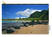Picture Perfect Haena Beach Carry-all Pouch