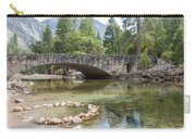 Picturesque Bridge In Yosemite Valley Carry-all Pouch