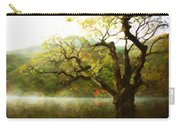 Picturesque Foggy Lake Carry-all Pouch