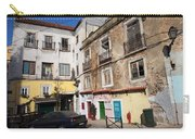 Picturesque Houses In Lisbon Carry-all Pouch