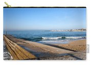 Pier And Beach By The Atlantic Ocean In Cascais Carry-all Pouch