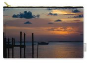 Pier At Buttonwood Sound Carry-all Pouch