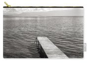 Pier At Lake Ohrid Carry-all Pouch