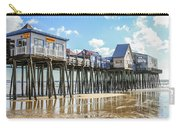 Pier At Low Tide Carry-all Pouch