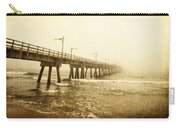 Pier In A Storm Carry-all Pouch