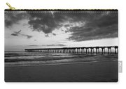 Pier In Black And White Carry-all Pouch
