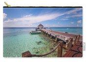 Pier Into Blue. Resort Vivanta By Taj Carry-all Pouch