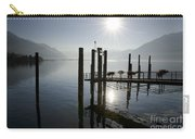 Pier On An Alpine Lake Carry-all Pouch