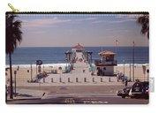 Pier Over An Ocean, Manhattan Beach Carry-all Pouch