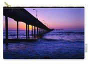 Pier Sunset Ocean Beach Carry-all Pouch