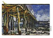 Pier Van Gogh Carry-all Pouch