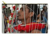 Pierced Hindu Devotee Wears Kavadi At Thaipusam Singapore Carry-all Pouch