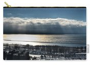Piercing Cold Rays Upon The Waters Winter 2013 Carry-all Pouch