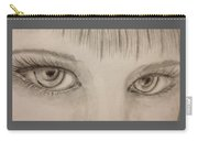 Piercing Eyes Carry-all Pouch