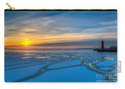 Pierhead Polar Vortex Sunrise Carry-all Pouch