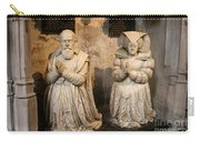 Pierre Jeannin And His Wife Sculpture Cathedral Autun Carry-all Pouch