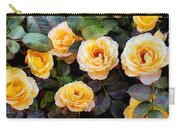Pierre's Peach Roses Carry-all Pouch