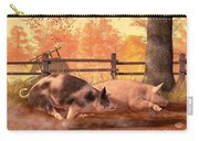 Pig Race Carry-all Pouch