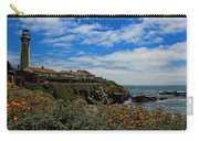 Pigeon Point Lighthouse Painted Carry-all Pouch