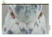 Pigeon Portrait En Face Carry-all Pouch