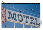 Pigeon Roost Motel Sign Carry-all Pouch