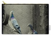 Pigeons In Damask Carry-all Pouch
