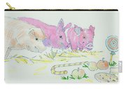 Pigs Cartoon Carry-all Pouch
